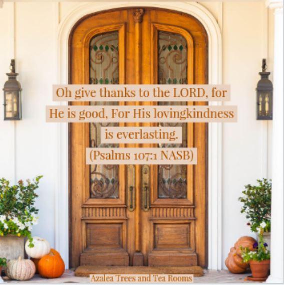 Psalm 107 1 10142018