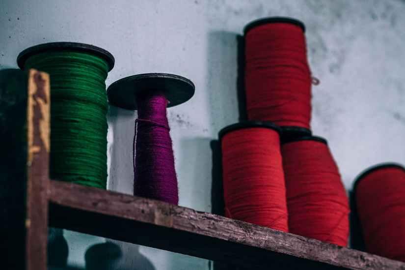 arrangement coil colorful colors